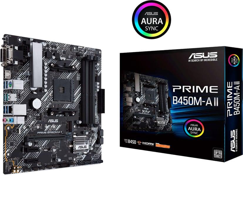 ASUS PRIME B450M-A II Mikro ATX Hovedkort