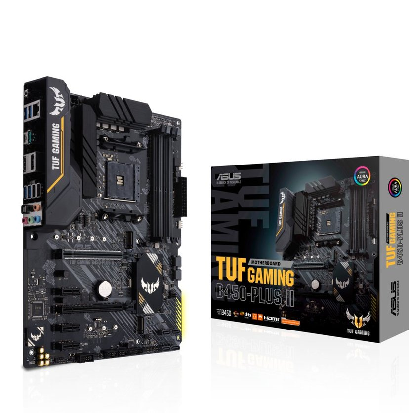ASUS Tuf B450-Plus Ii Gaming (ATX, B450, AM4) ATX Moderkort