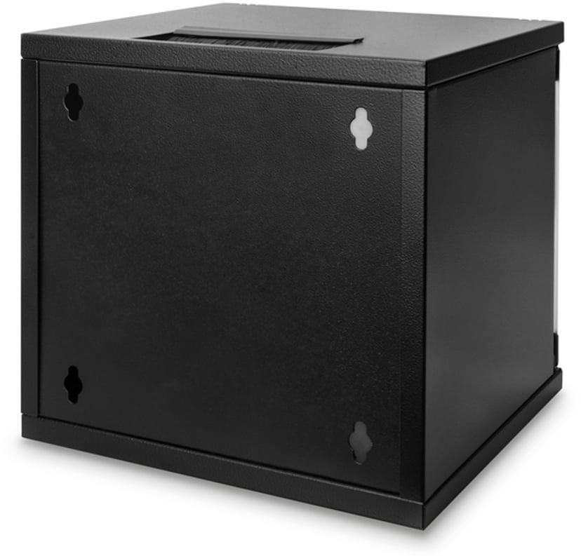 "Digitus 10"" 6U Wall Cabinet Black"