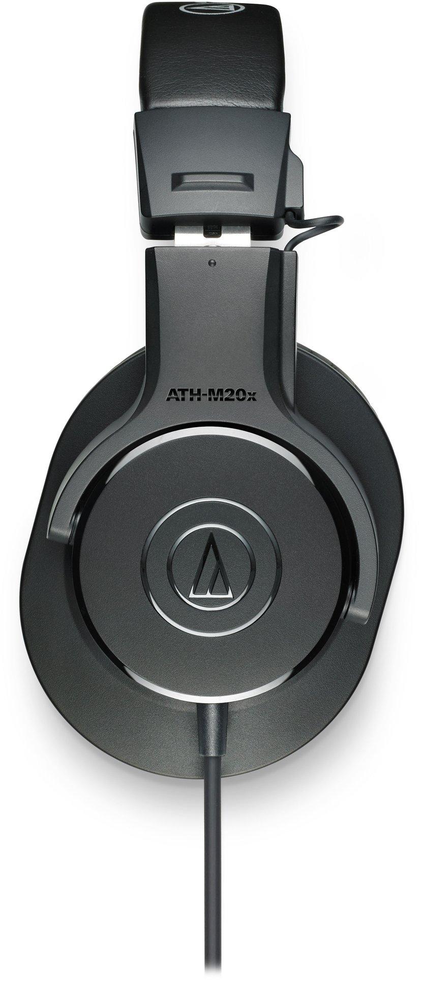 Audio-Technica ATH M20X Svart