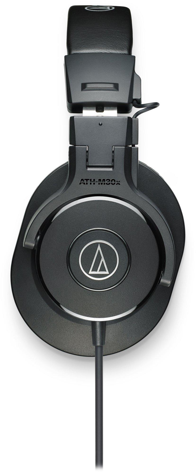 Audio-Technica ATH M30X Svart