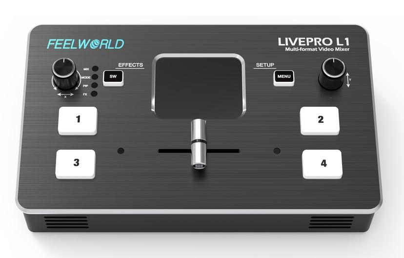 FEELWORLD Live Pro L1 Multi-Format Video Mixer