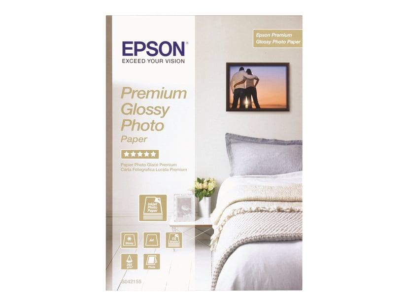 Epson Papper Photo Prem Glossy A2 25 Ark 225g