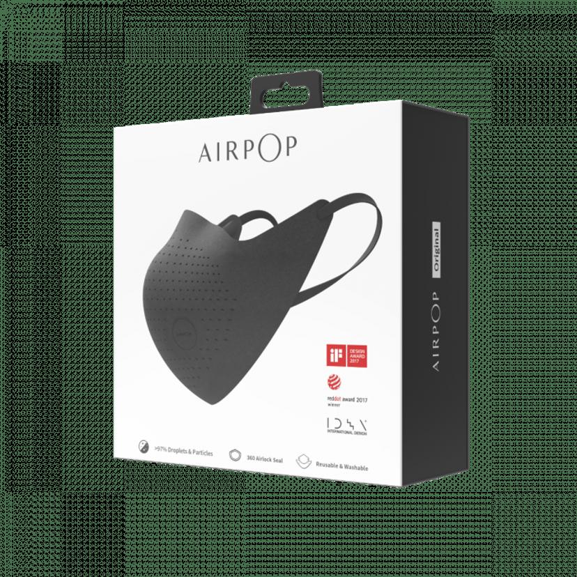Airpop Original Mask Svart