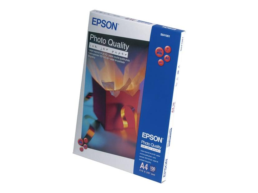 Epson Papir Photo Quality A4 100-ark 102G