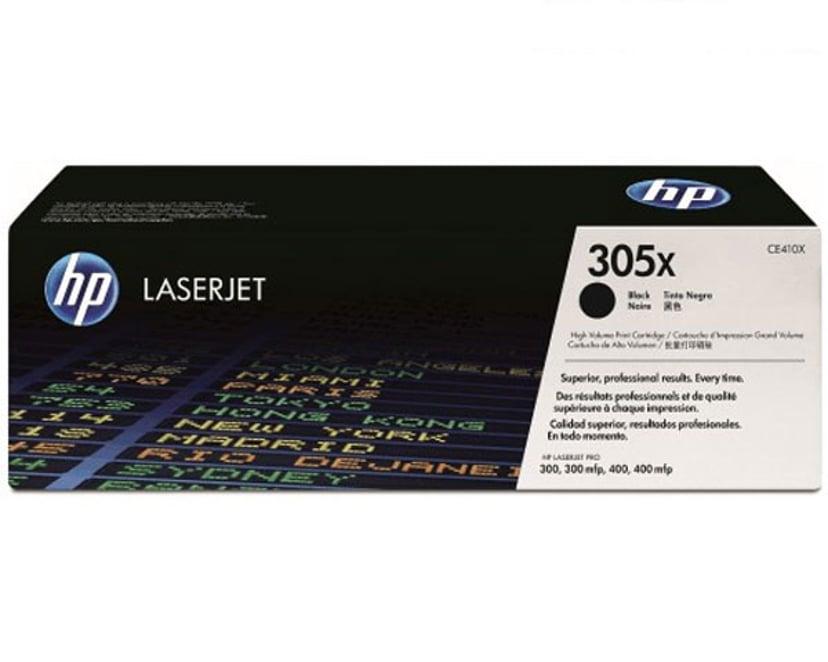 HP Toner Svart 305X 4K - CE410X