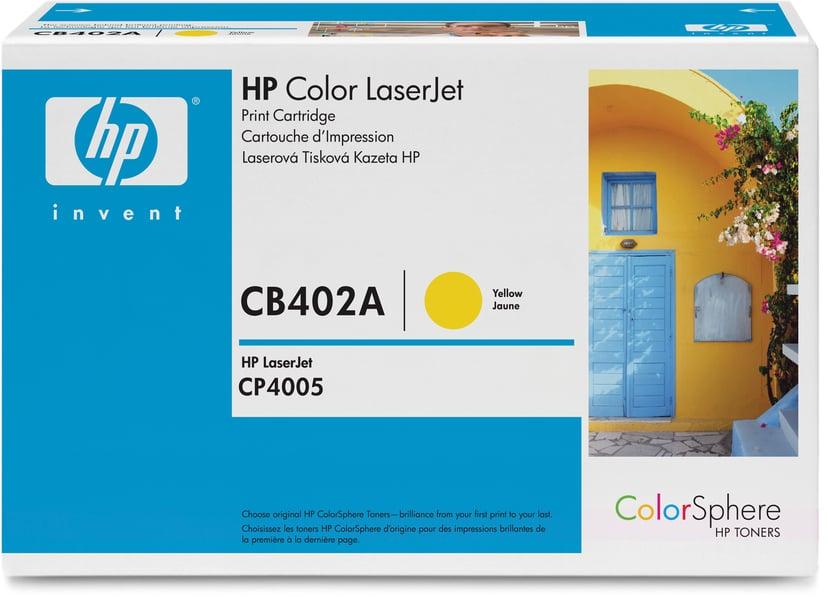 HP Toner Geel 7.5K - CB402A