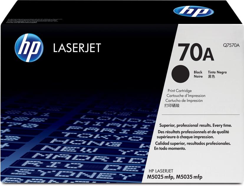 HP Värikasetti Musta 70A 15K - Q7570A