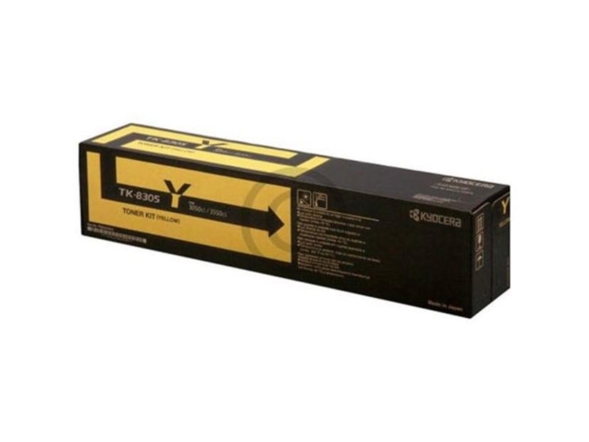 Kyocera Värikasetti Keltainen TK-8305Y 15k - TASKalfa 3051CI