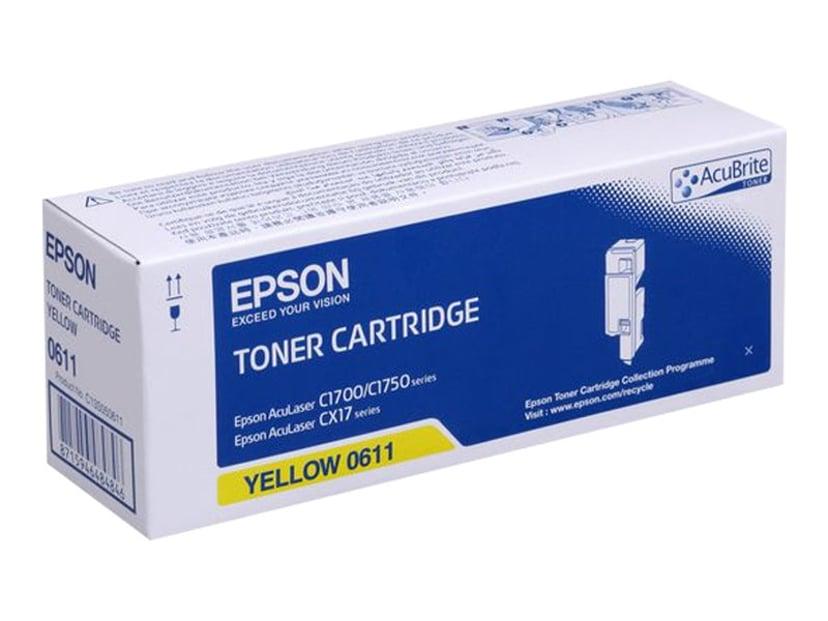 Epson Toner Gul 1,4k - AL-C1700/C1750/CX17 Series
