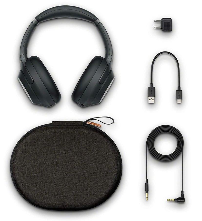 Sony WH-1000XM3 langattomat kuulokkeet Musta
