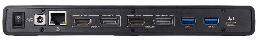 Prokord Workplace Dockingstation USB-C 5K Dual Monitor #Demo