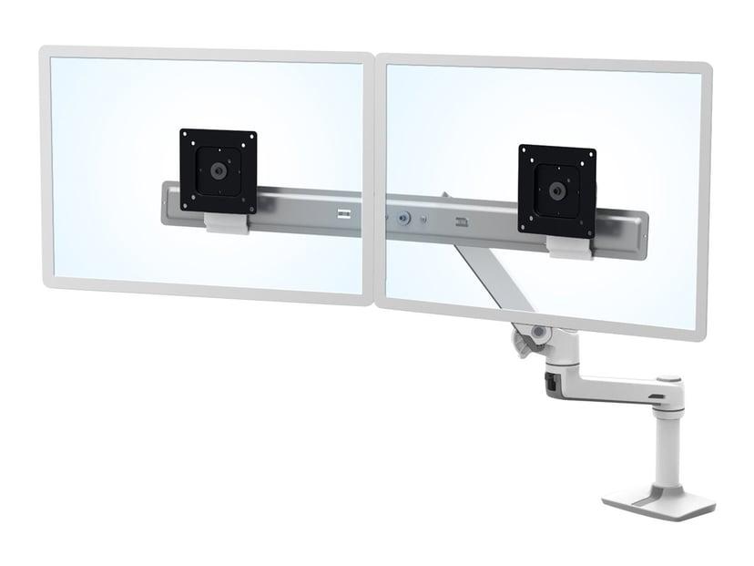 Ergotron LX Desk Dual Direct Arm Hvit