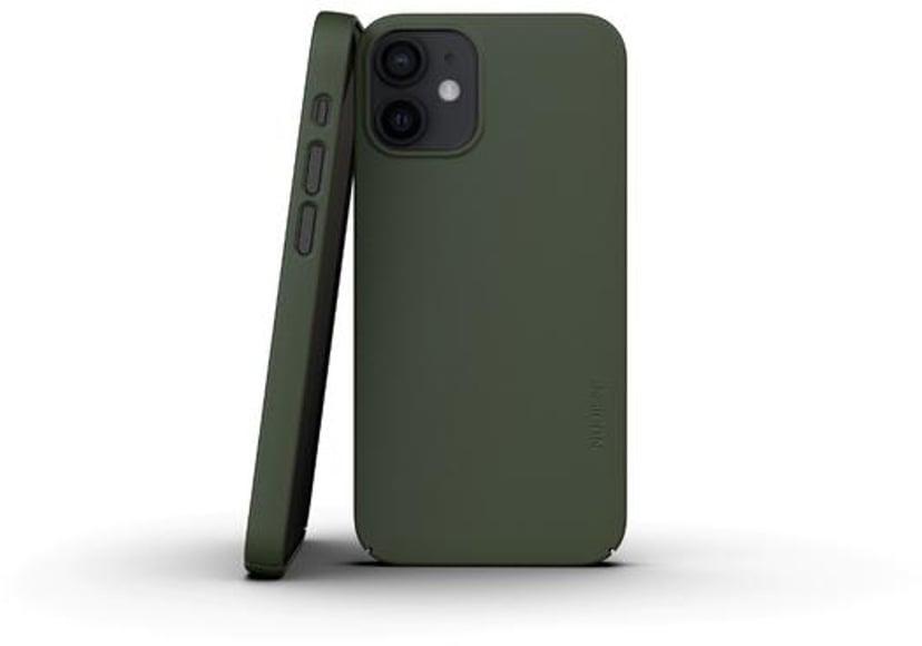 Nudient Thin Precise Case V3 iPhone 12 Mini Grön