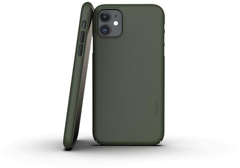 Nudient Thin Precise Case V3 iPhone 11 Grøn