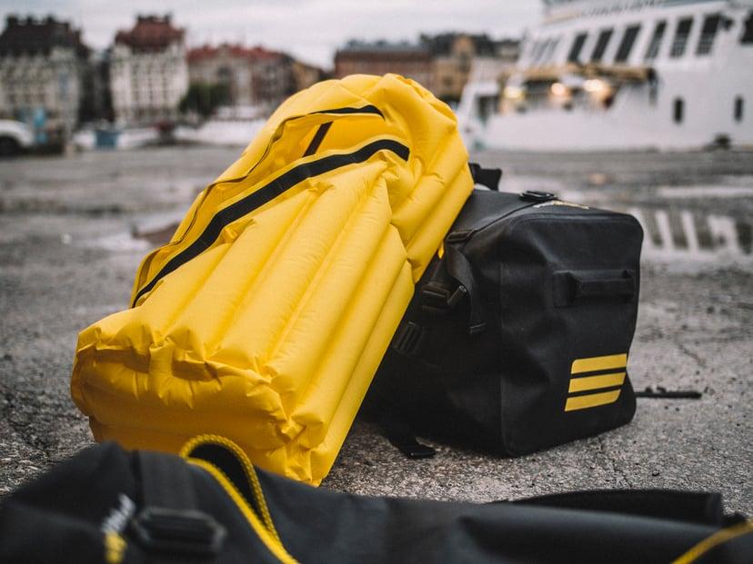 Subtech Sports Shockproof Inflatable System Gul, Svart
