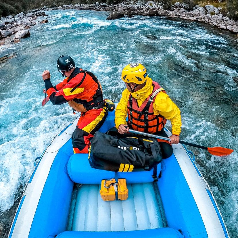 Subtech Sports Pro Drybag 45L Gul, Svart, Vit