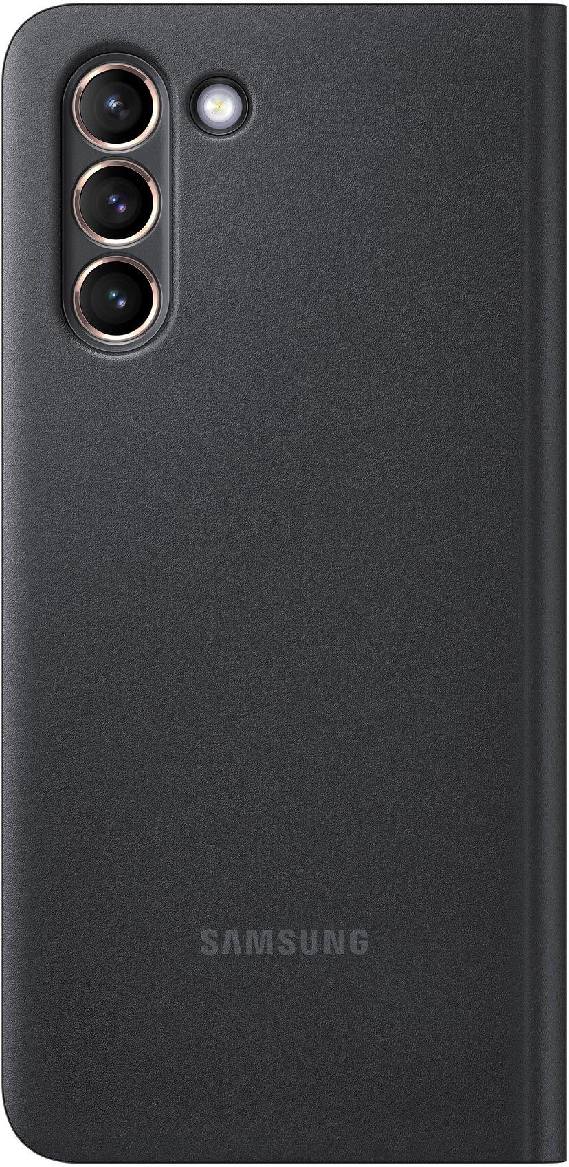 Samsung Smart Clear View Cover EF-ZG991 Svart Samsung Galaxy S21