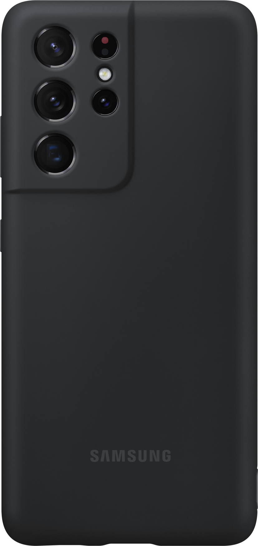Samsung Silicone Cover EF-PG998 Samsung Galaxy S21 Ultra Svart