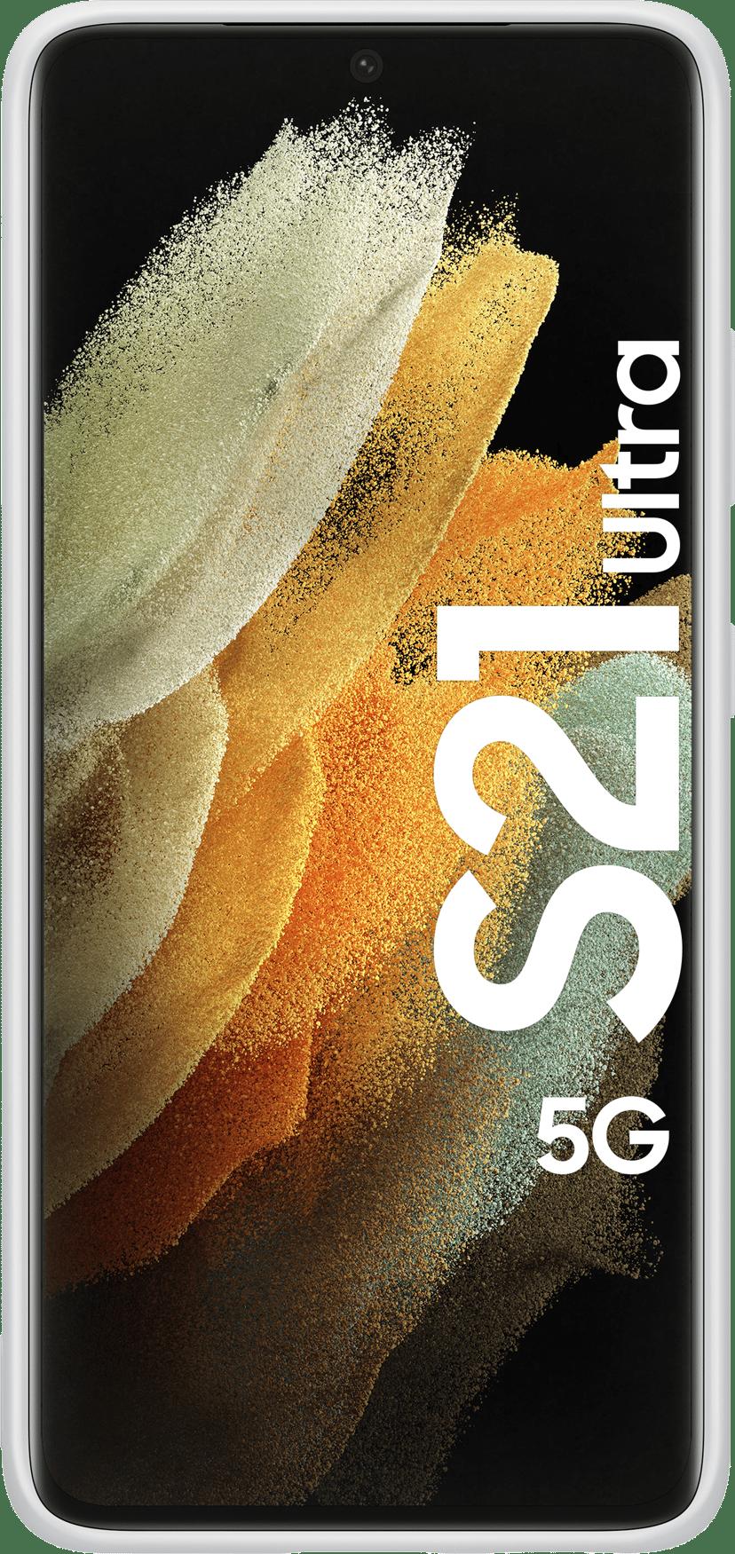 Samsung Silicone Cover EF-PG998 Grå Samsung Galaxy S21 Ultra