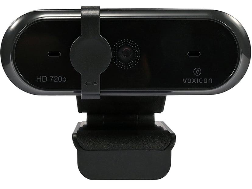 Voxicon Webcam HD 1280 x 720 Webkamera Sort