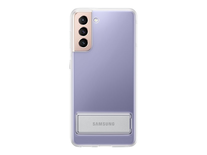 Samsung Clear Standing Cover EF-JG991 Samsung Galaxy S21 Läpinäkyvä