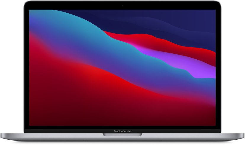 "Apple MacBook Pro (2020) Rymdgrå M1 16GB SSD 1024GB 13.3"""