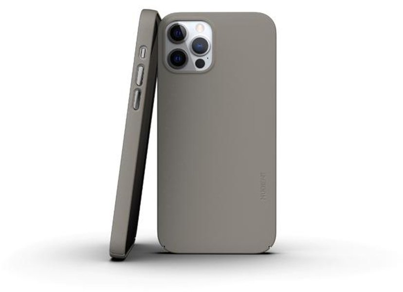 Nudient Thin Precise Case V3 iPhone 12, iPhone 12 Pro Beige