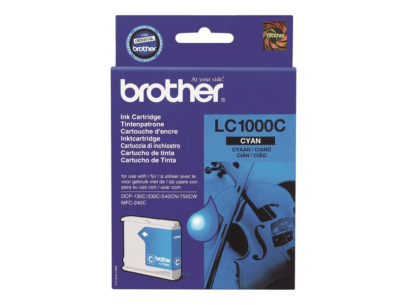 Brother Blæk Cyan 400 Pages - DCP-540CN