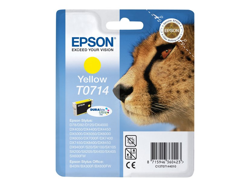 Epson Blekk Gul T0714