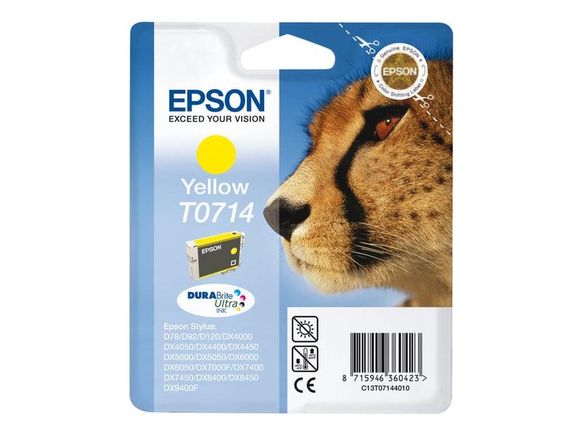 Epson Blæk Gul T0714