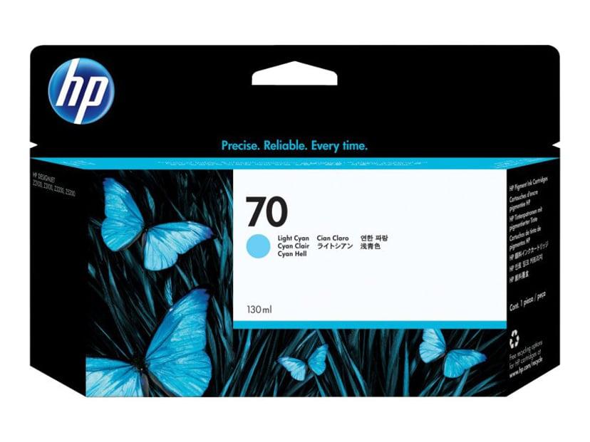 HP Blekk Ljus Cyan No.70 - DJ Z2100