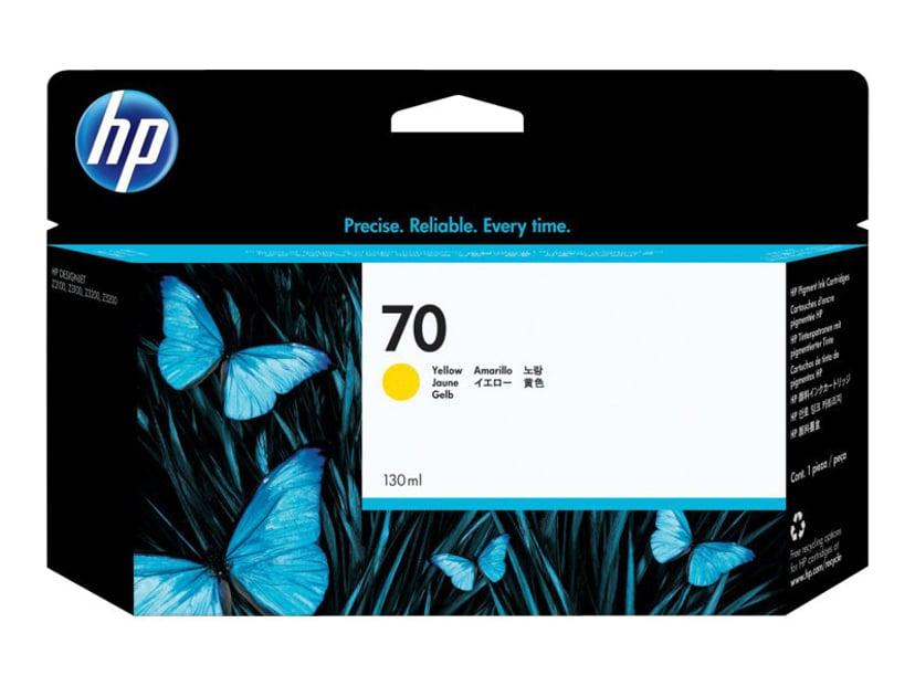 HP Muste Keltainen No.70 - DJ Z2100