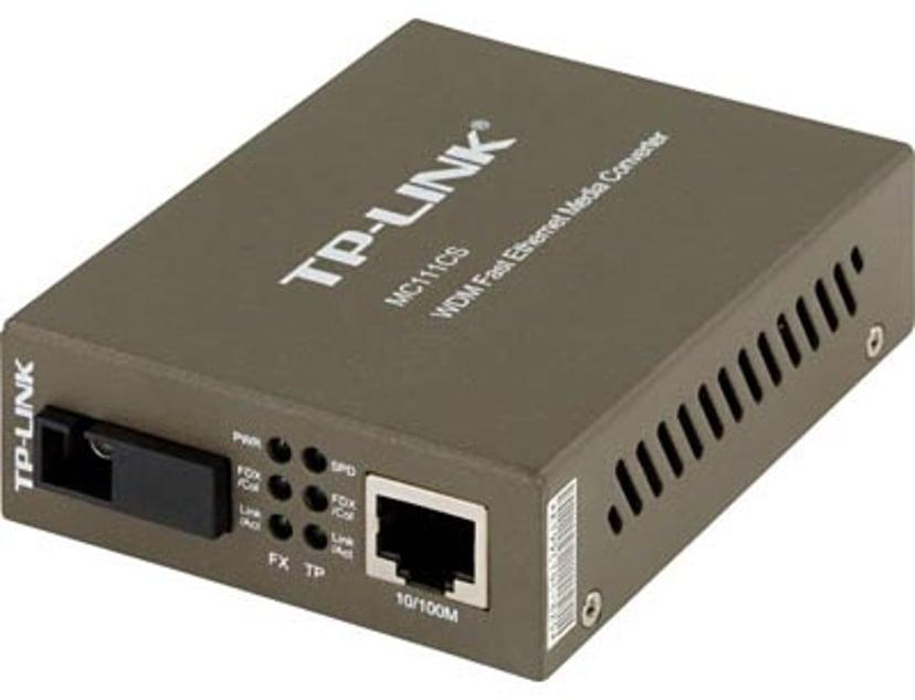 TP-Link MC111CS Valokuitu-mediamuunnin RJ-45 SC single-mode