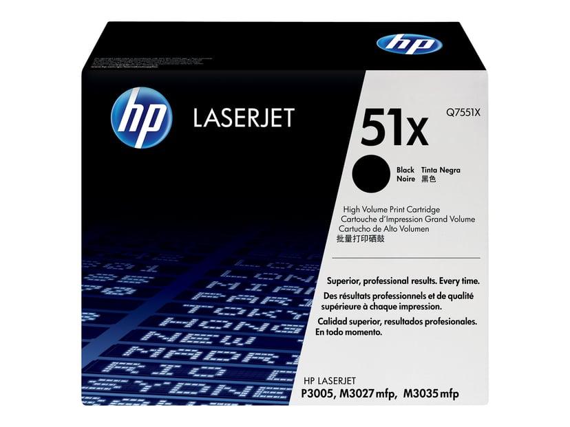 HP Värikasetti Musta 13K - Q7551X