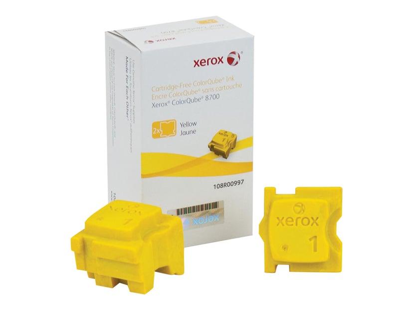 Xerox Blekk SOLID 2X Gul 4,2K - CQ 8700/8900
