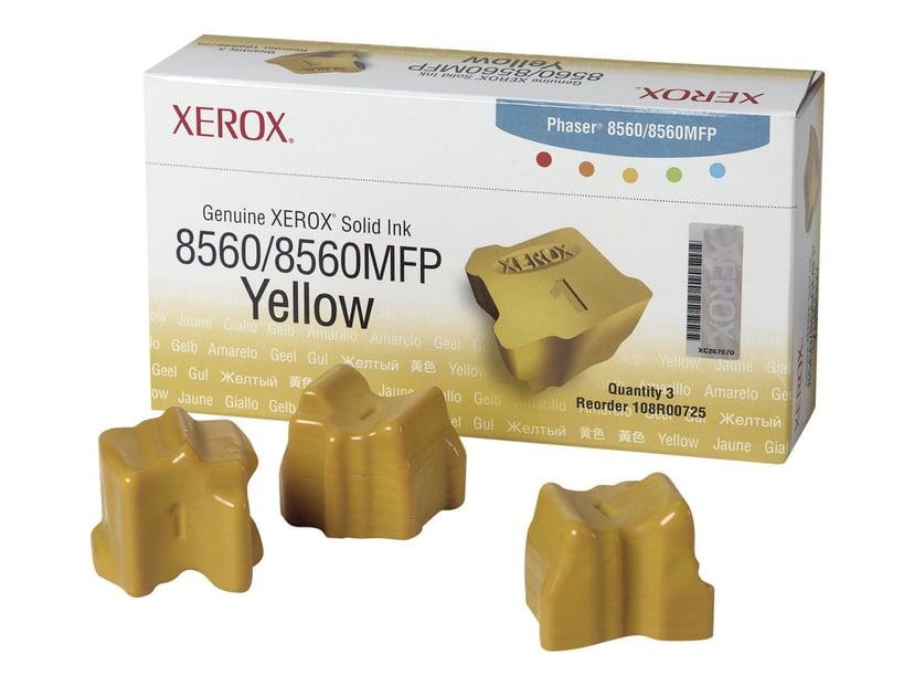 Xerox Colorstix 3X Keltainen - Phaser 8560