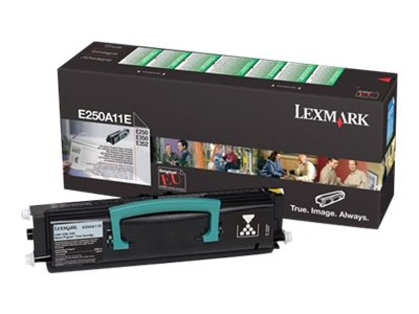 Lexmark Toner Svart 3.5k - E250 Return