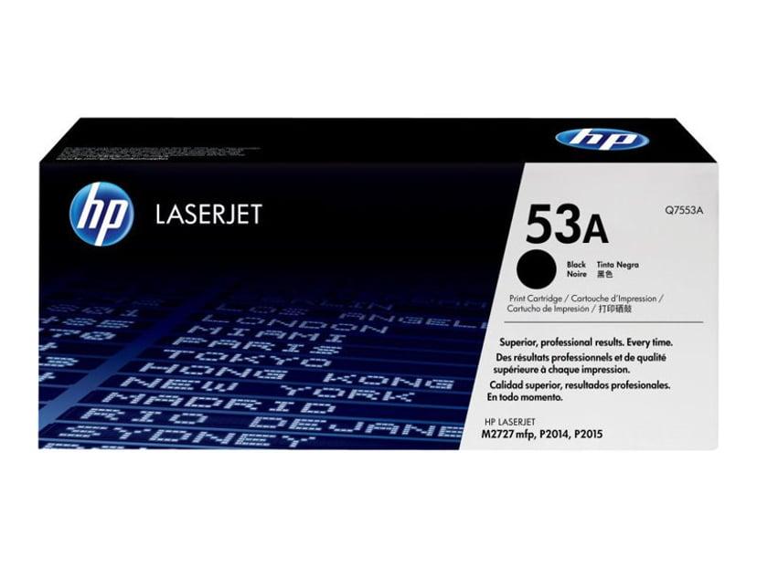 HP Toner Svart 3K - Q7553A