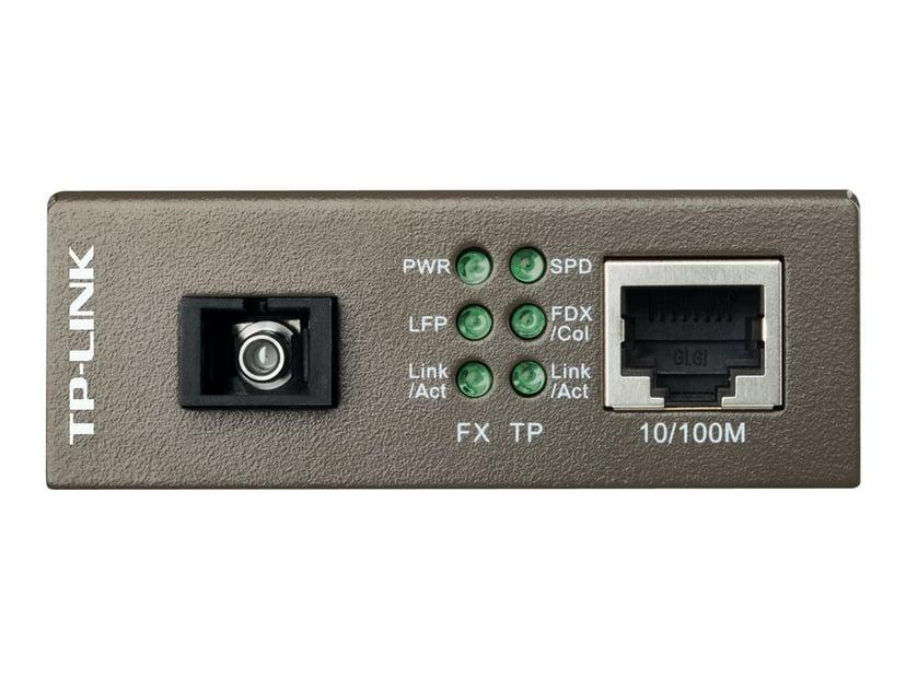 TP-Link MC111CS Fibermediekonverterare RJ-45 SC enkelläge