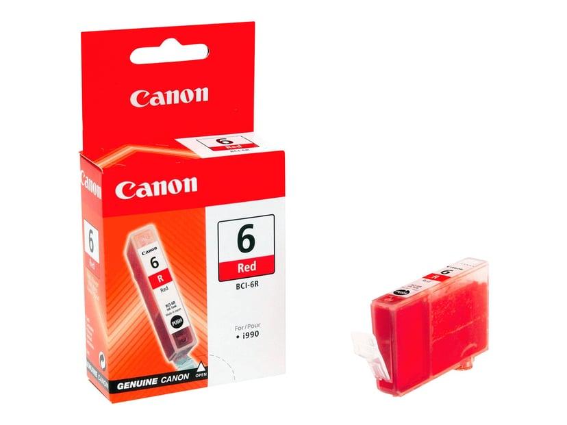 Canon Blekk Rød BCI-6R I990