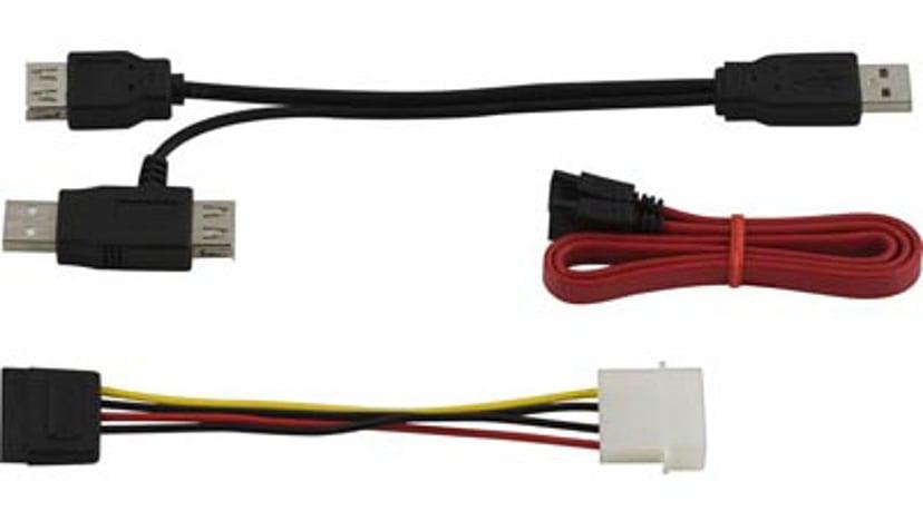 """Deltaco Cable 2.5""""/3.5"""" IDE/SATA USB 2.0 W/PSU"""