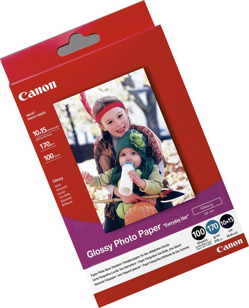 Canon Papir Photoeveryday Gp-501 10X15cm 100 ark 210G