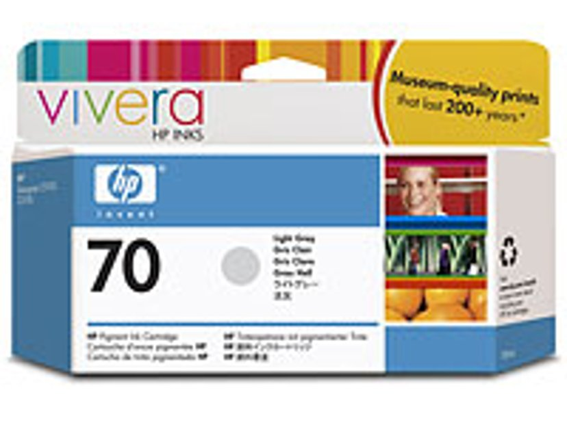 HP Muste Kevyt Harmaa No.70 - DJ Z2100