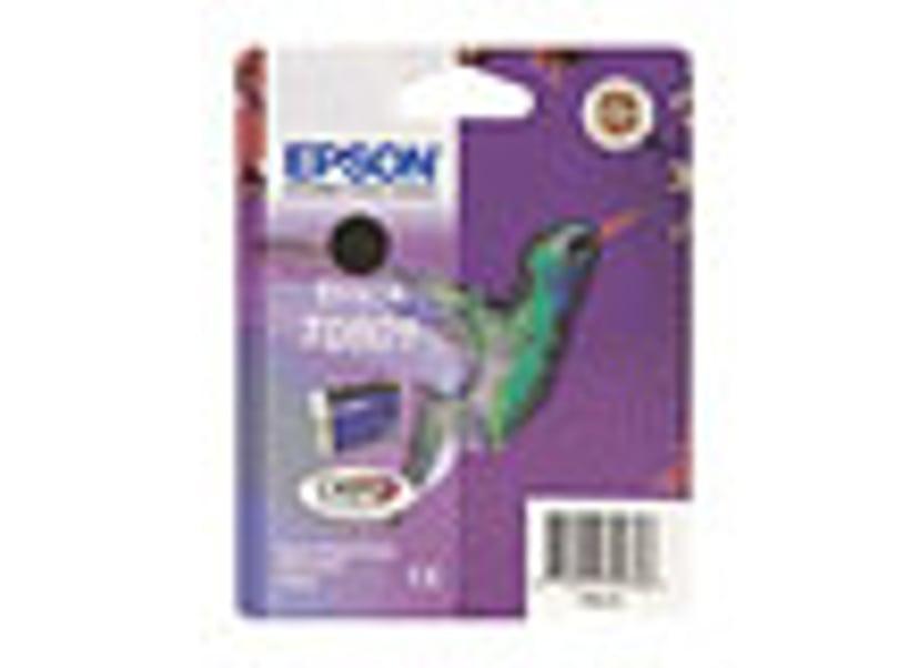 Epson Blekk Svart T0801 R265/360/RX560