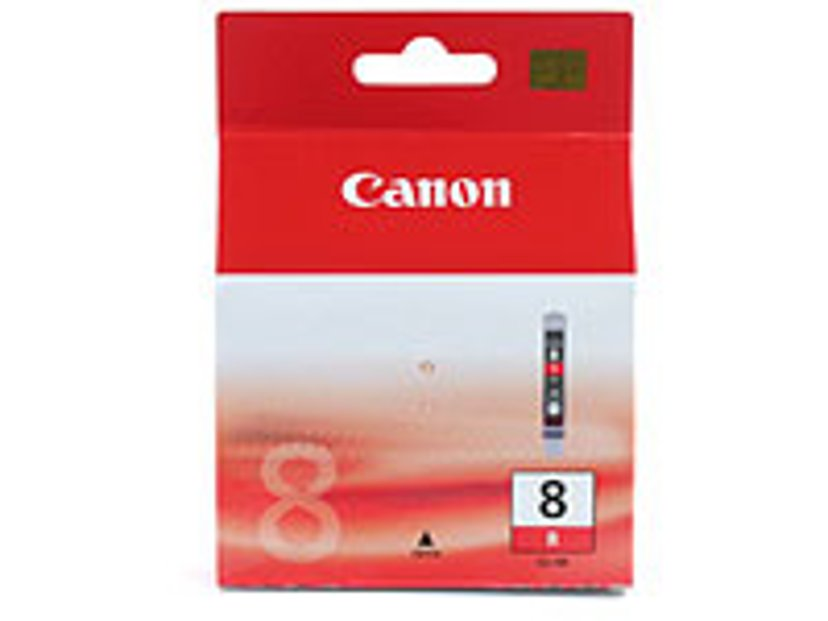 Canon Inkt Rood CLI-8R