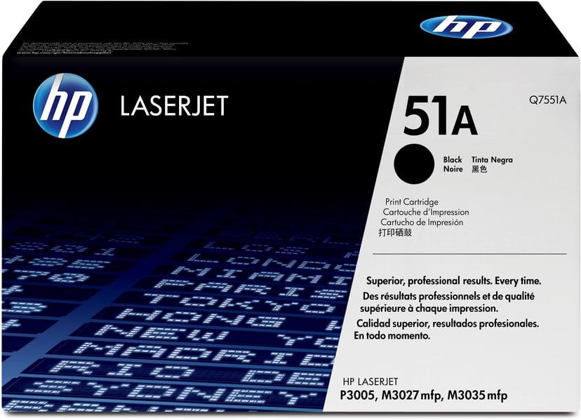 HP Värikasetti Musta 6.5K - Q7551A