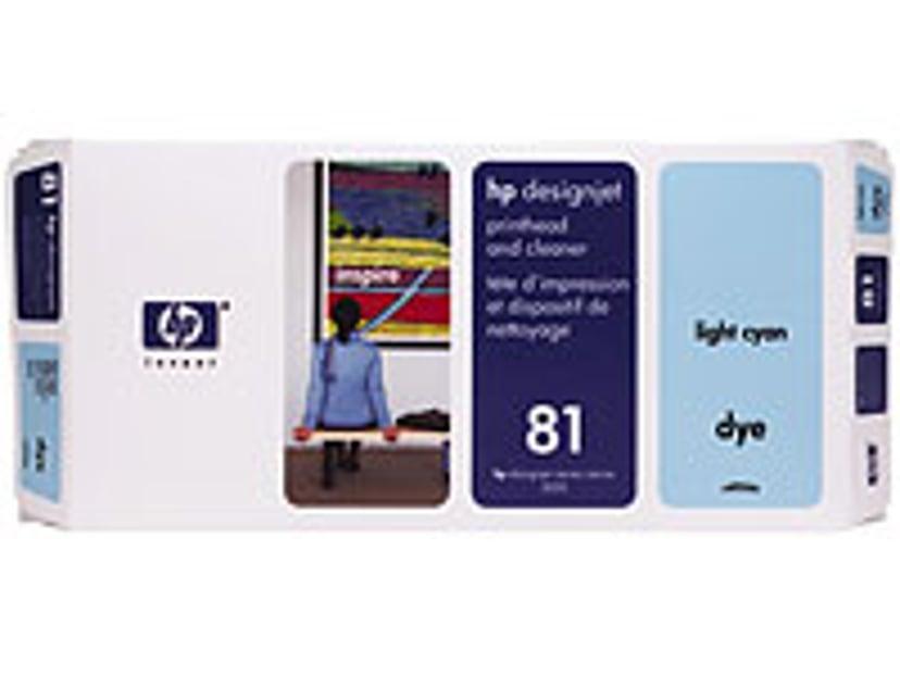 HP Printhead No.81 Ljus Cyan DJ 5000/5500
