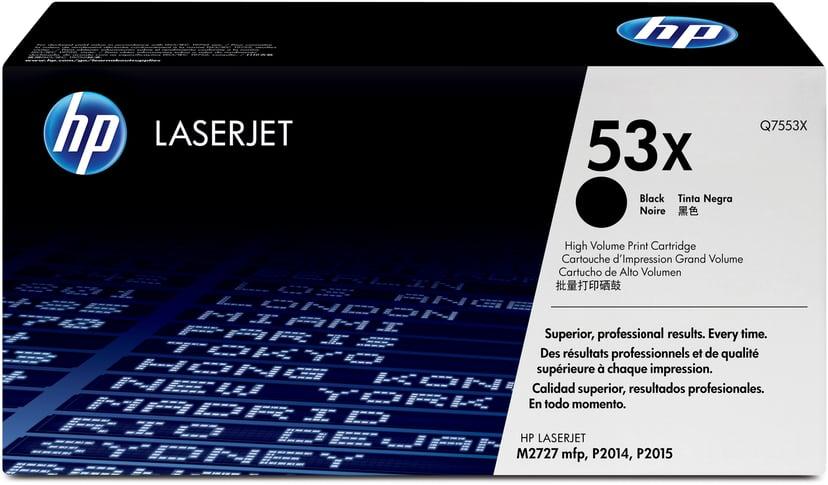 HP Toner Svart 7K - Q7553X