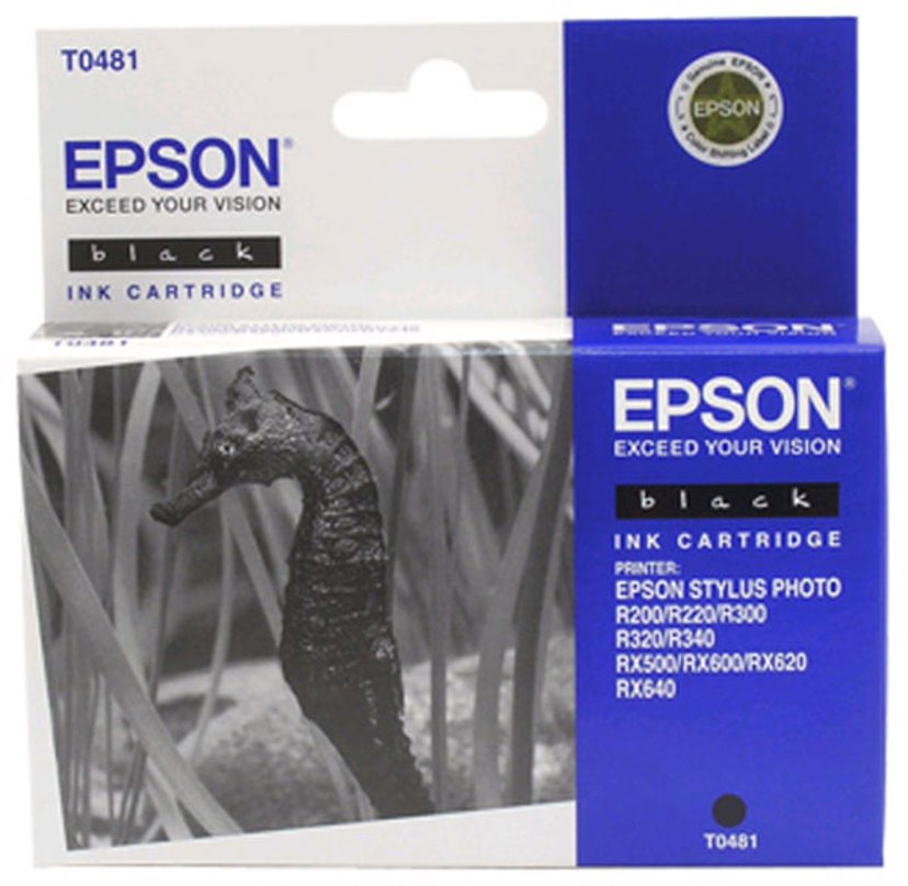 Epson Blekk Svart T048 - R300